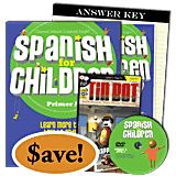 Spanish for Children A, Basic Bundle