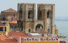 Se de Lisboa picture in Lisbon Different Architectural Styles, Cathedral Church, Lisbon Portugal, Romanesque, Us Travel, Travel Tips, 14th Century, Barcelona Cathedral, Travel Photos