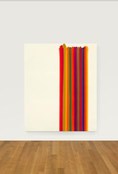 morris louis picture with red stripe - Google Search
