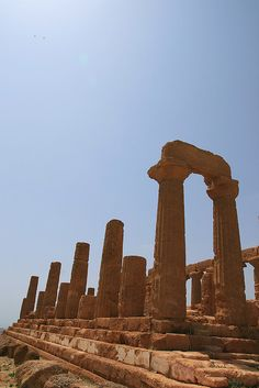 Temple of Juno - Valley of the Temples - Agrigento, Sicily, Italy  #agrigento #sicilia #sicily