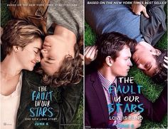 Nat Wolff and Ansel Elgort remaking the TFIOS poster.