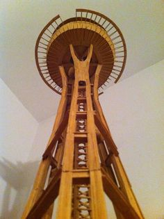 day 210: toothpick space needle