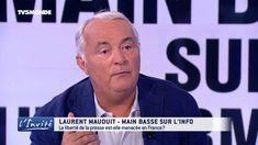"""Laurent MAUDUIT :"""" Les milliardaires musèlent l'information en France"""""""