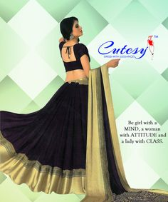 Latest Sarees, Fashion Wear, Attitude, How To Memorize Things, Ballet Skirt, Elegant, Lady, Skirts, How To Wear