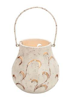 Ceramic Petal Lantern