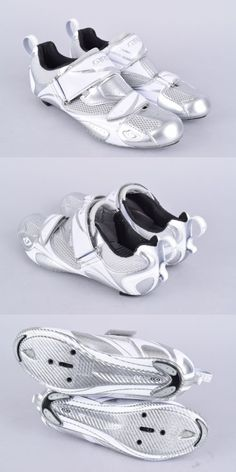 Women 158987: New Giro Facet Triathlon Shoes | Womens 39Eu / 7.5Us | Chrome White BUY IT NOW ONLY: $59.99