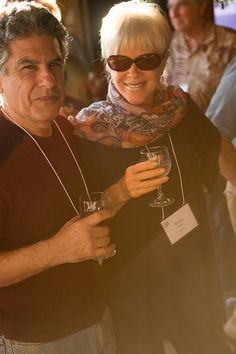 Two of my favorite people - Stephen Mitchell and Byron Katie at Esalen's 50th.