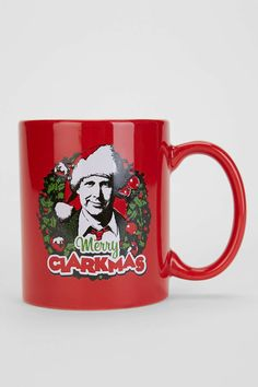 Merry Clarkmas Mug - Urban Outfitters