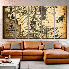 Lord of the Rings Maps Canvas Wall Art http://geekxgirls.com/article.php?ID=8581