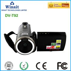 (68.25$)  Watch now - http://aiztp.worlditems.win/all/product.php?id=32777283849 - 12MP 8X digital zoom digital video camera HDV-T92 dual solar charging 720p hd photo camera video camcorder