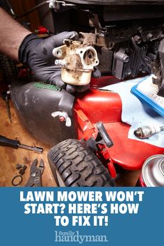 Fix Lawn Mower 252834966567393137 - Lawn Mower Won't Start Source by family_handyman Lawn Mower Maintenance, Lawn Mower Repair, Landscape Design Small, Modern Garden Design, Modern Design, Yard Tools, Pergola Pictures, Lawn Equipment, Engine Repair