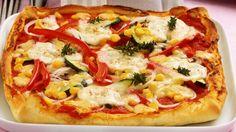 Fix im Ofen und schnell auf dem Tisch: Schnelle Pizza mit Gemüse…