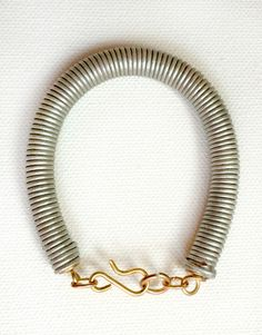 Silvermint Coil Bracelet