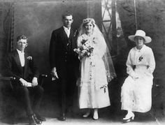 File:StateLibQld 1 145123 Marriage of Walter John Beckwith and Myrtle Ellenor Brown, 1920.jpg