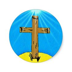 A Cross To Bear Sticker