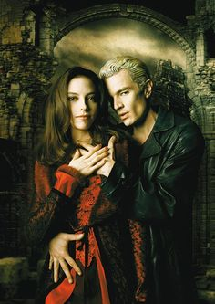 Spike and Drusilla from 'Buffy the Vampire Slayer'