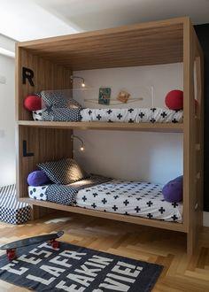 Kids Bedroom Inspiration, Bunk Bed Rooms, Kids Room Interior Design, Kids Bedroom Designs, Cool Dorm Rooms, Big Boy Room, Cute Room Decor, Bedroom Design, Remodel Bedroom
