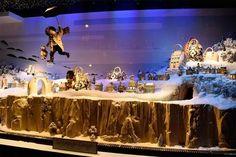 Best Christmas Window Displays 2014 - Holiday Window Displays