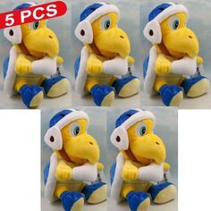"""Find More Movies & TV Information about New 5 PCS Kids Toys Super Mario Bros Knife Tortoise Nicole Malliotakis Sanei Anime Plush Doll Approx 20cm/8"""" Free Track Code,High Quality code locks for doors,China doll model Suppliers, Cheap doll shoes and accessories from M&J Toys Global Trading Co.,Ltd on Aliexpress.com"""