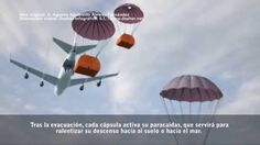 Rescue and supply capsules for aircrafts,large helicopters and space shu...