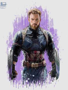 #Avengers #InfinityWar #CaptainAmerica