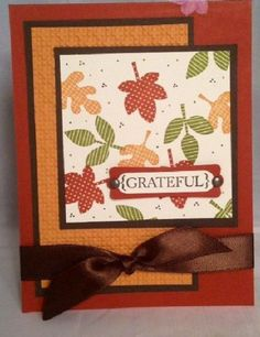 Best DIY Ideas of Handmade Thanksgiving Cards Picture 35