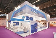 Aurobindo Pharma Booth by Insta Exhibitions at CPHI 2014, Paris – France » Retail Design Blog