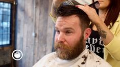 Classic Haircut and Beard Trim at Awesome Barbershop | Cut & Grind | Shop Beardbrand: https://bdbd.us/2oA9PIg Instagram: http://ift.tt/2p10D02 Twitter: https://www.twitter.com/beardbrand  DESCRIPTION Mazie Coleman of Cut & Grind shows how to give a classic barbershop haircut and beard trim.  RECOMMENDED VIDEOS Classic Haircut and Beard Trim at Old School Barbershop https://youtu.be/MP6CFGUVcyU Classic Pompadour Haircut at the Barbershop https://youtu.be/ucxSAUFzxmQ Classic Men's Side Part…
