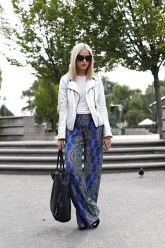 Mercedes-Benz Fashion Week Stockholm street style