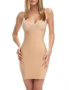 Slips 11532: Brand New $98 Commando 2-Faced Tech Control Full Slip In Nude Size Small -> BUY IT NOW ONLY: $37.5 on eBay!