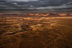 by Eric Meola / America / Storm Light, Canyonlands. Utah