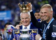Leicester City: Party time as Foxes crowned Premier League champions - BBC Sport Leicester City Football, Leicester City Fc, Kasper Schmeichel, Club Premier, Premier League Champions, Nottingham Forest, English Premier League, Football Pictures, Play Soccer
