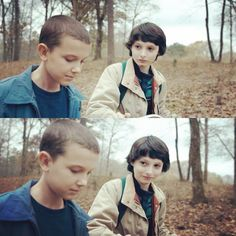 Eleven and Mike Wheeler - Stranger Things