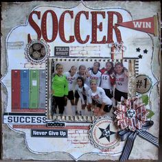 soccer. Sooo doing this for my team!!!