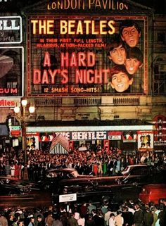 the world premiere of A Hard Day's Night at London's Pavilion Theatre on July 6, 1964..