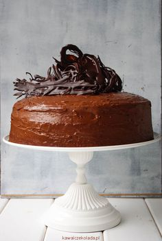 Tort czekoladowy II | Kawa i Czekolada Nutella, Cakes, Recipes, Cake Makers, Kuchen, Recipies, Cake, Pastries, Ripped Recipes