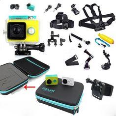 36.78$ Watch here - alitems.com/... - 2015 Xiaomi yi Action Sport Camera Accessories Waterproof Case Chest Head Mount Strap for Xiao mi Xiaoyi sports camera