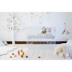 Vetro Clear Acrylic Mini Crib by Nursery Works - NW1098CA