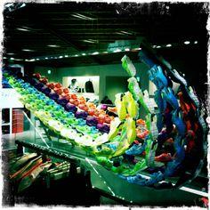 Nike Store Harajuku  3D Swoosh is impressive!