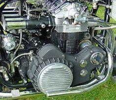 Mechanical Beauty....NSU Prinz Auto motor used in Munch Mammoth