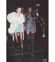 Kate Moss & Naomi <3