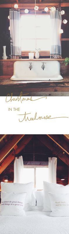 Christmas in the treehouse ... A MUST see... http://www.lynneknowlton.com/christmas-in-the-treehouse/