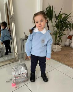 First Day At Nursery, Mix Baby Girl, Velvet T Shirt, Shower Routine, Nursery School, Baby Faces, Mixed Babies, Cute Baby Pictures, Baby Crafts