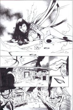 X-Men # 2 Page 1 by Olivier Coipel