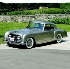 Only 506 examples of the 1953 Nash-Healy Le Mans Coupe were built. These Anglo-American hybrids, with straight-six engines from Nash, chassis from Donald Healey and, in their second generation, with body styling from Pininfarina, were long ago accorded milestone status as one of the first production post-war sports cars sold in America.