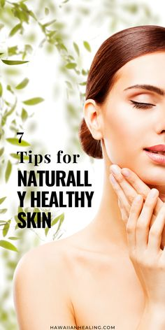 7 Tips for Naturally Healthy Skin Anti Aging Serum, Anti Aging Skin Care, Natural Skin Care, Skincare Blog, Skincare Routine, Organic Beauty, Natural Beauty, Effects Of Stress, Beauty Secrets
