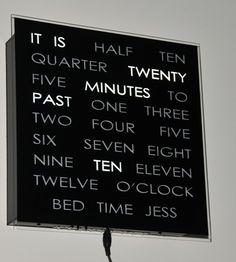word clock lexerrr