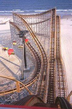 A Rollercoaster with a View of the Ocean! Sounds like a JOYride to me :)