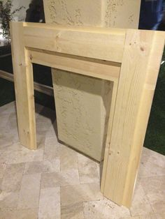 Printing Videos Projects Posts Home Improvement Pergolas Key: 9383009558 Fireplace Surround Diy, Faux Fireplace Mantels, Faux Mantle, Diy Mantel, Christmas Fireplace, Fireplace Wall, Fireplace Surrounds, Christmas Mantal, Mantel Ideas