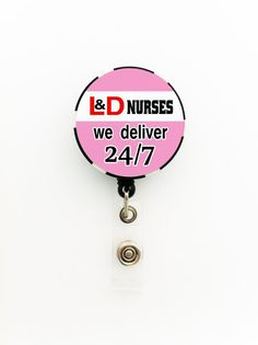 Labor and Delivery OB Nurse ID Name Badge Holder on by TrendyArtz, $7.75, get it at www.etsy.com/shop/trendyartz